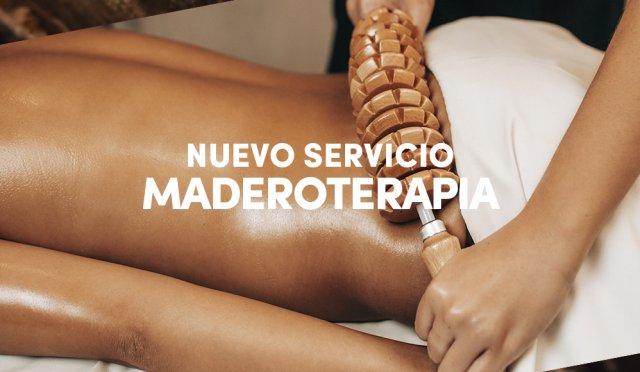 Nou servei: Maderoterapia
