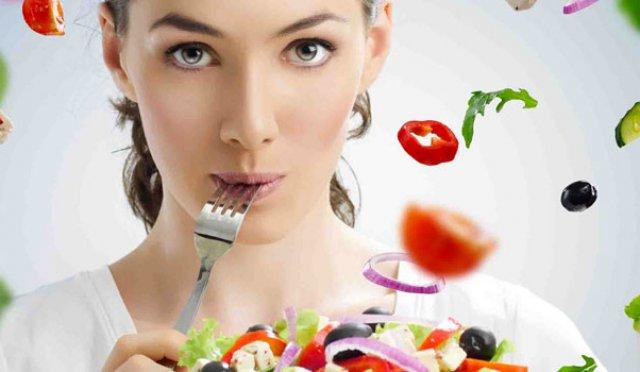Savourer la nourriture est saine.