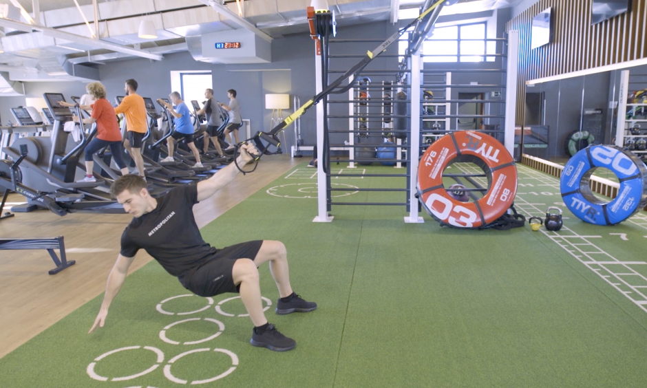 Video tips Crossmet - One-arm rowing and twisting