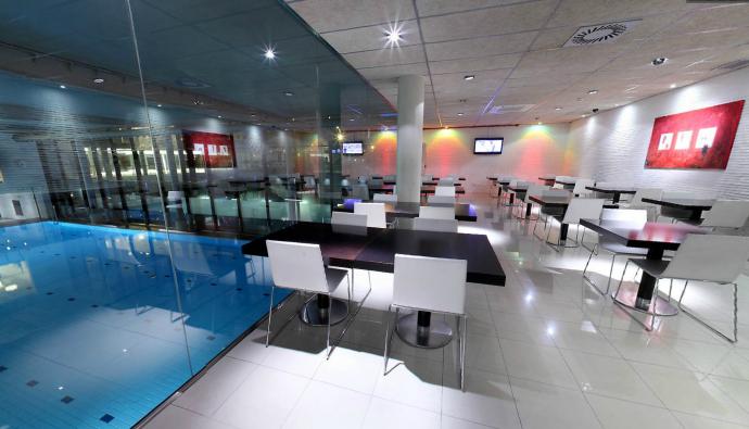 Restaurants club metropolitan for Gimnasio hospitalet