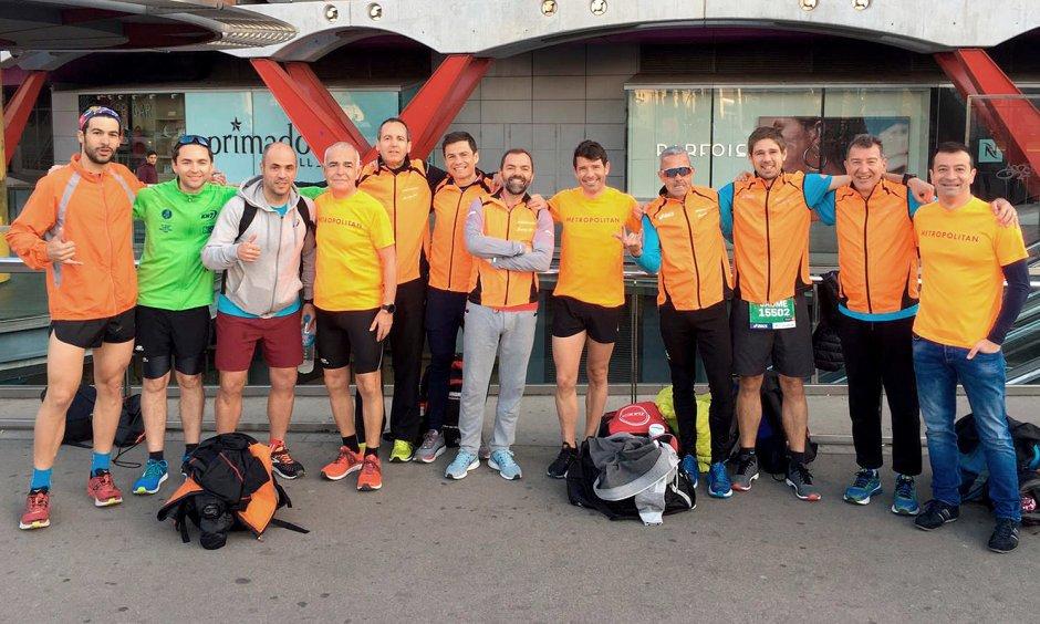 Metropolitan Running Club au Marathon de Barcelone 2019