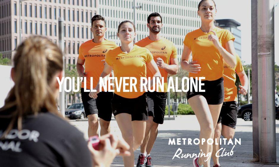 Running Club Metropolitan: Vous ne courrez jamais seul