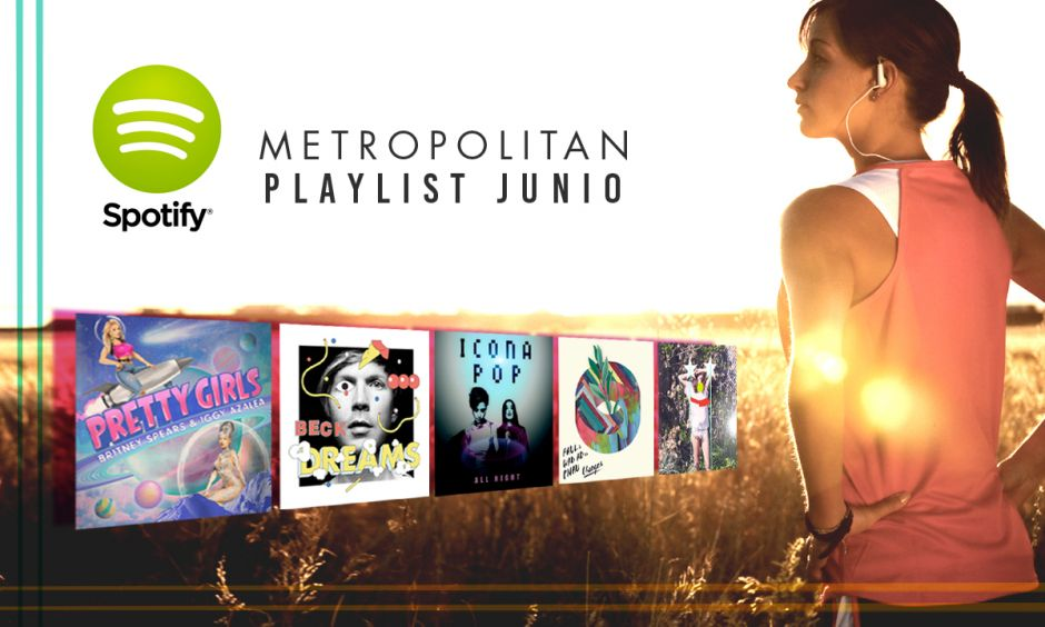 Playlist Fitness Junio 2015 de Metropolitan Sport Club & Spa
