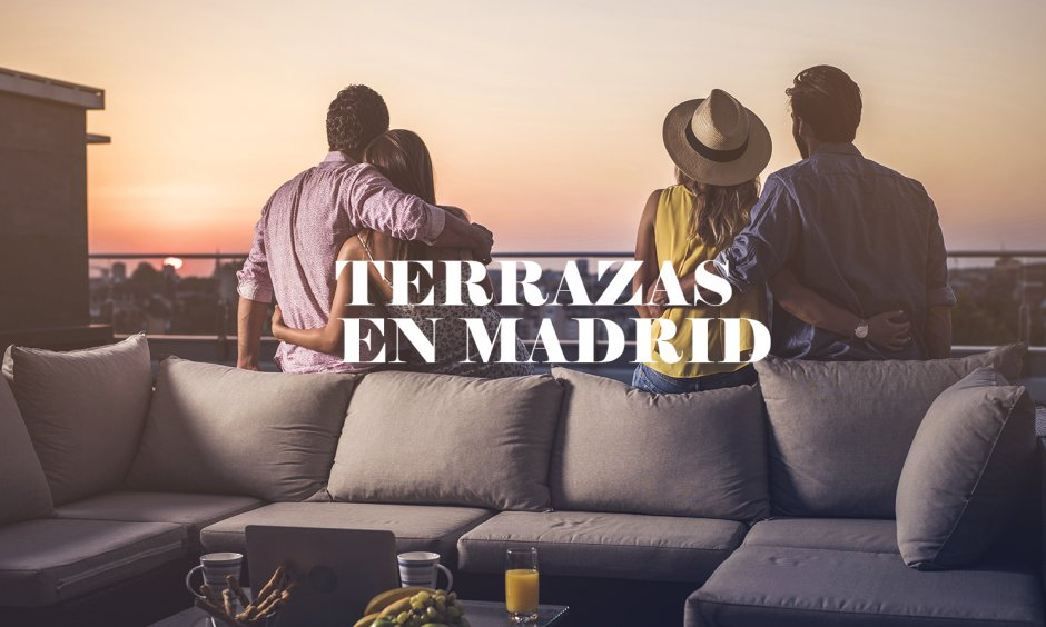 LES MEILLEURES TERRASSES DE MADRID POUR ACCUEILLIR LE BON TEMPS