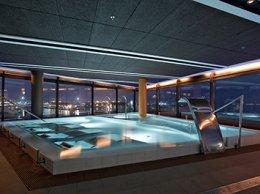 Spa Hydromassage à la piscine