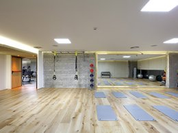 TRX Stretching Room