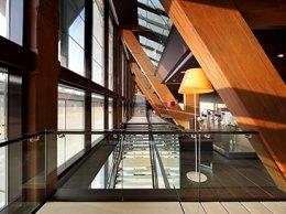 Escaliers de réception