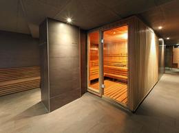 Sauna et armoire de bain turc