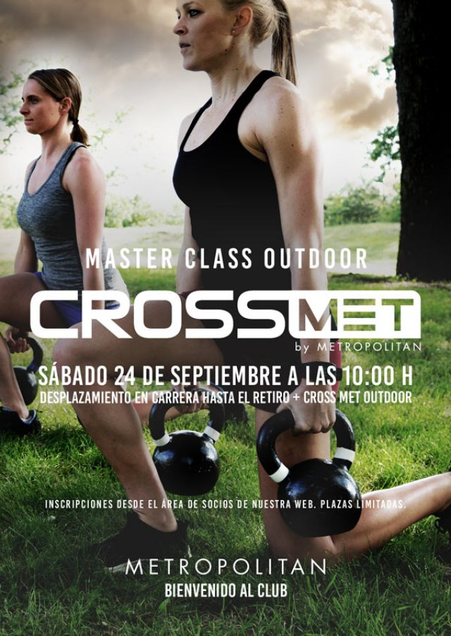 Master Class Outdoor Crossmet